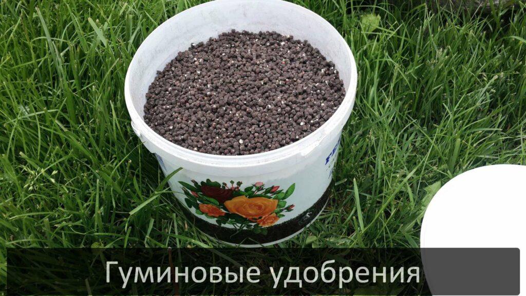 Удобрение на основе гуминовых кислот