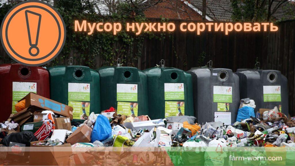 Классификация и виды отходов/мусора